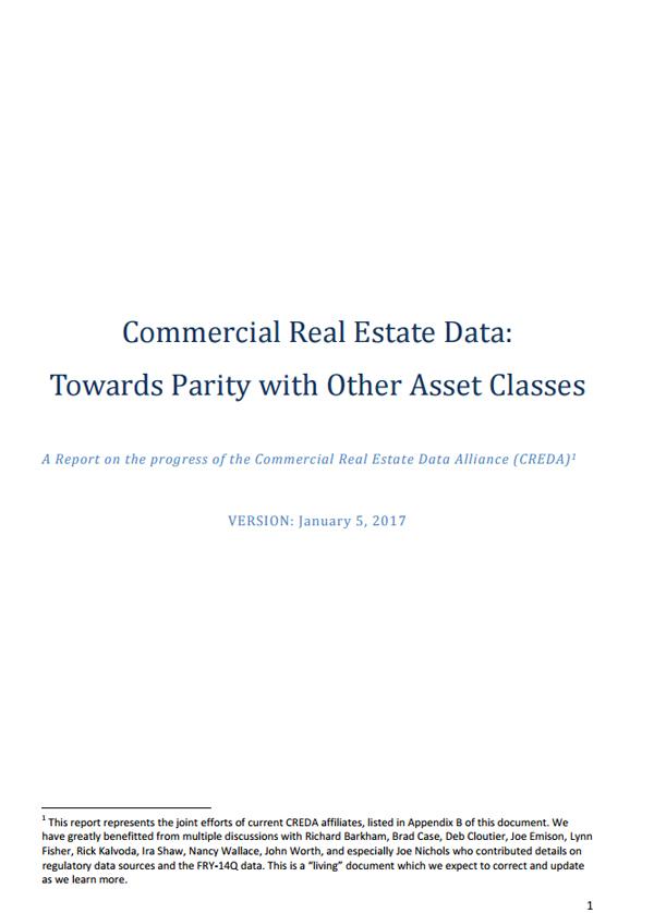 Kenan Institute Commercial Real Estate